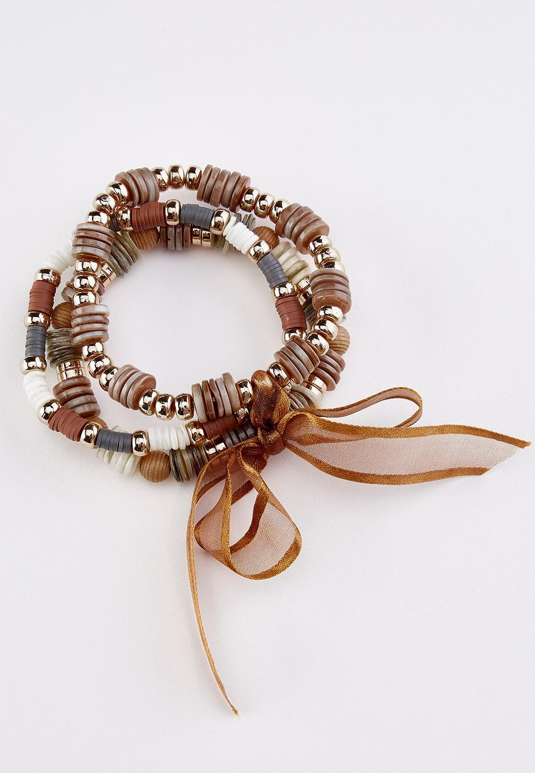 tied with a ribbon stretch bracelet set (Item #44285202)