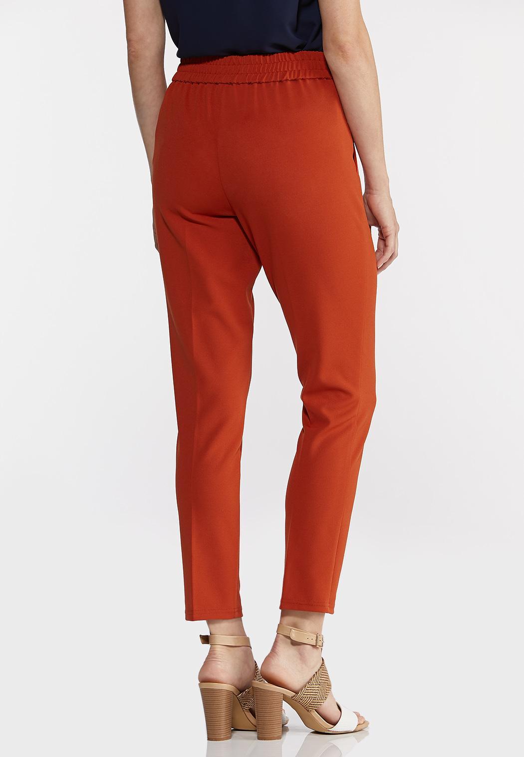 Petite Slim Tie Waist Pants (Item #44288528)