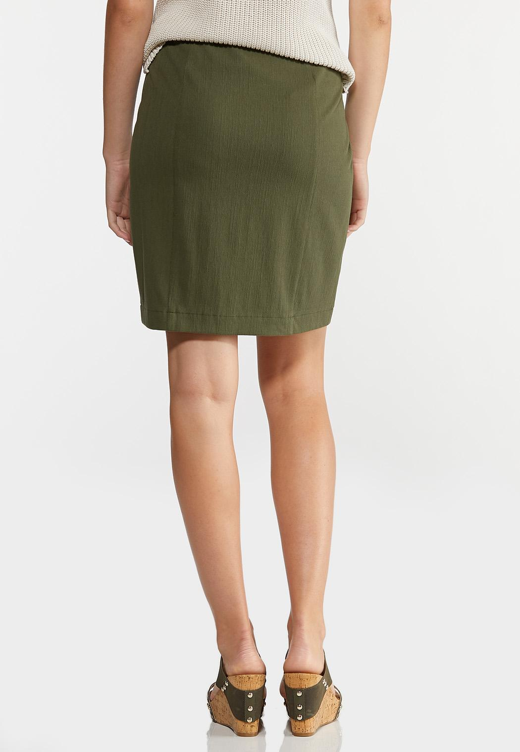 Olive Mini Skirt (Item #44288732)