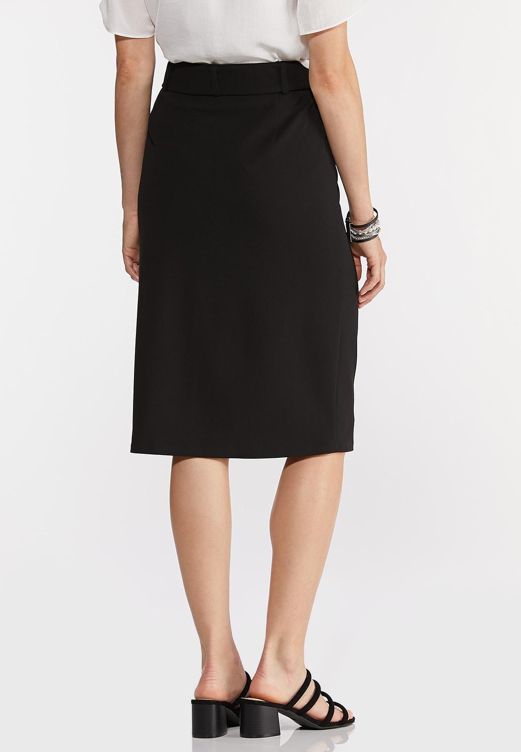 Belted Pencil Skirt (Item #44288792)