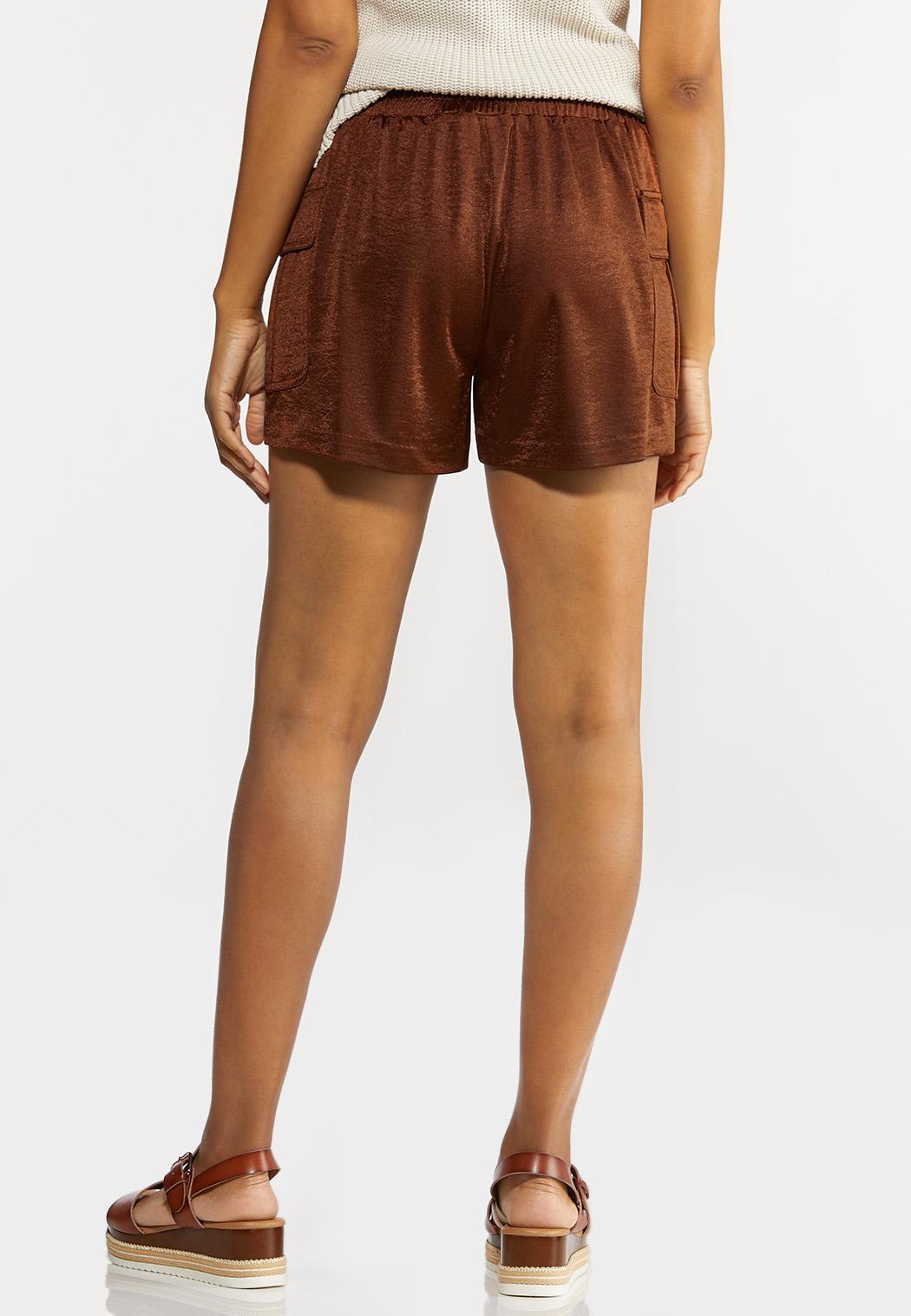 Satin Utility Shorts (Item #44289015)