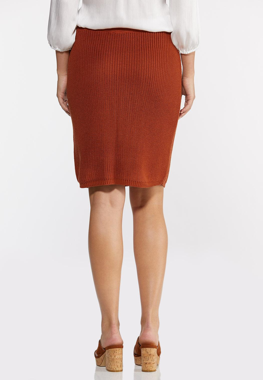 Rust Sweater Skirt (Item #44289093)
