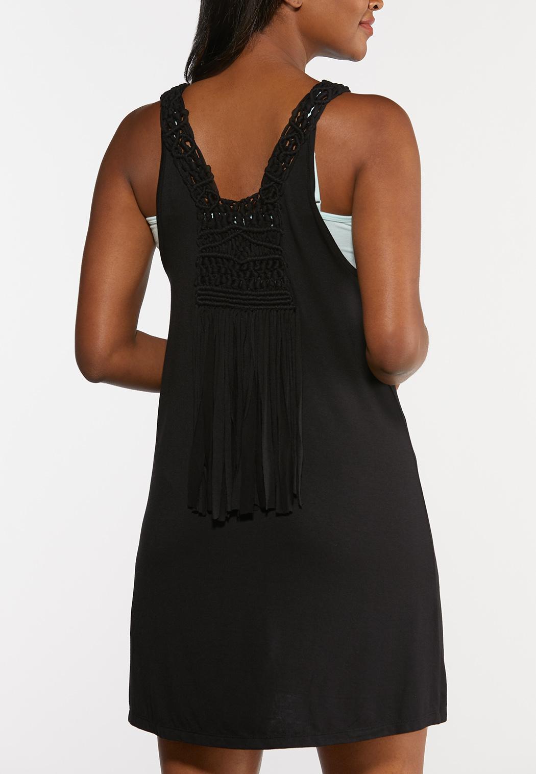 Plus Size Solid Black Vest (Item #44290783)