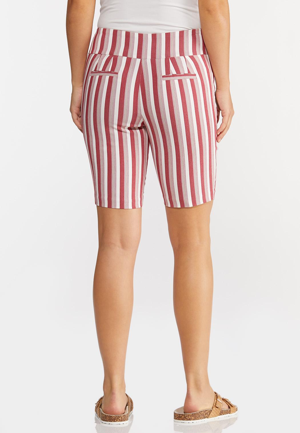 Chili Stripe Bermuda Shorts (Item #44291424)