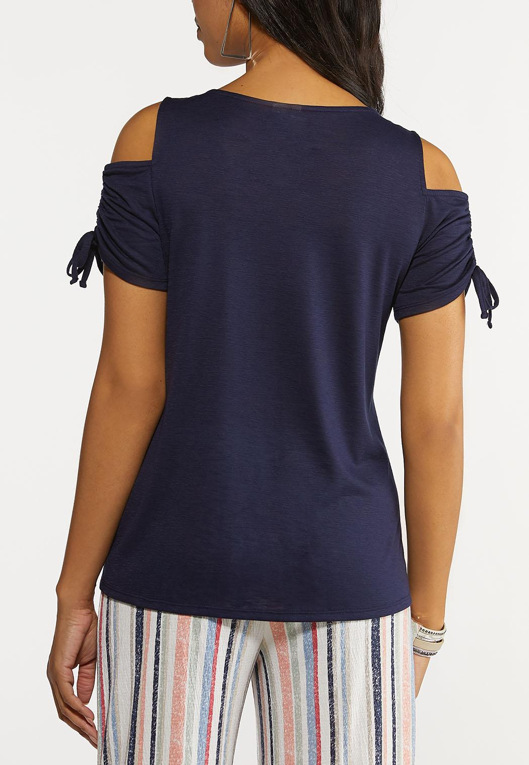 Plus Size Live In The Moment Top (Item #44291744)