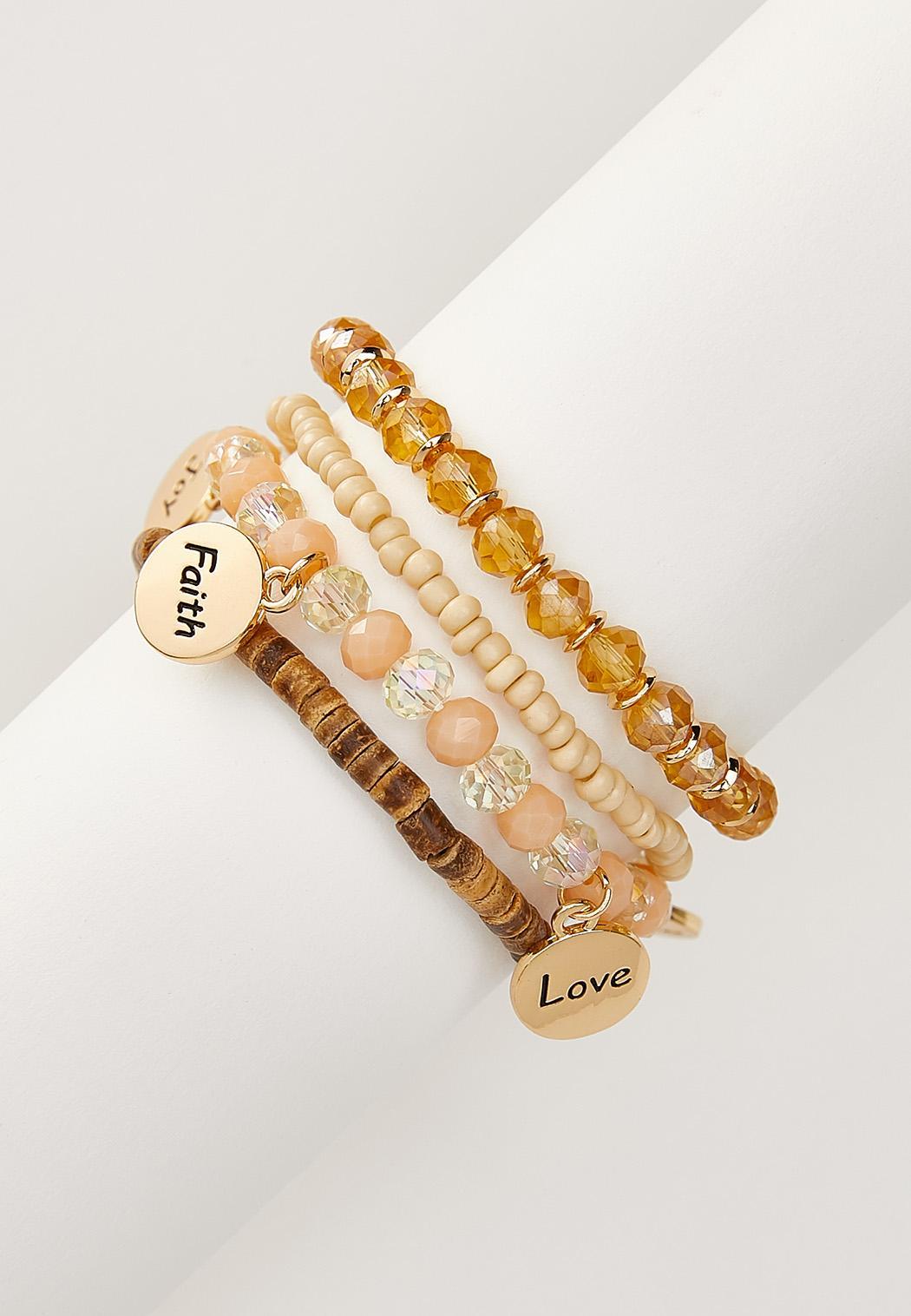 Inspirational Disc Bracelet Set (Item #44292168)