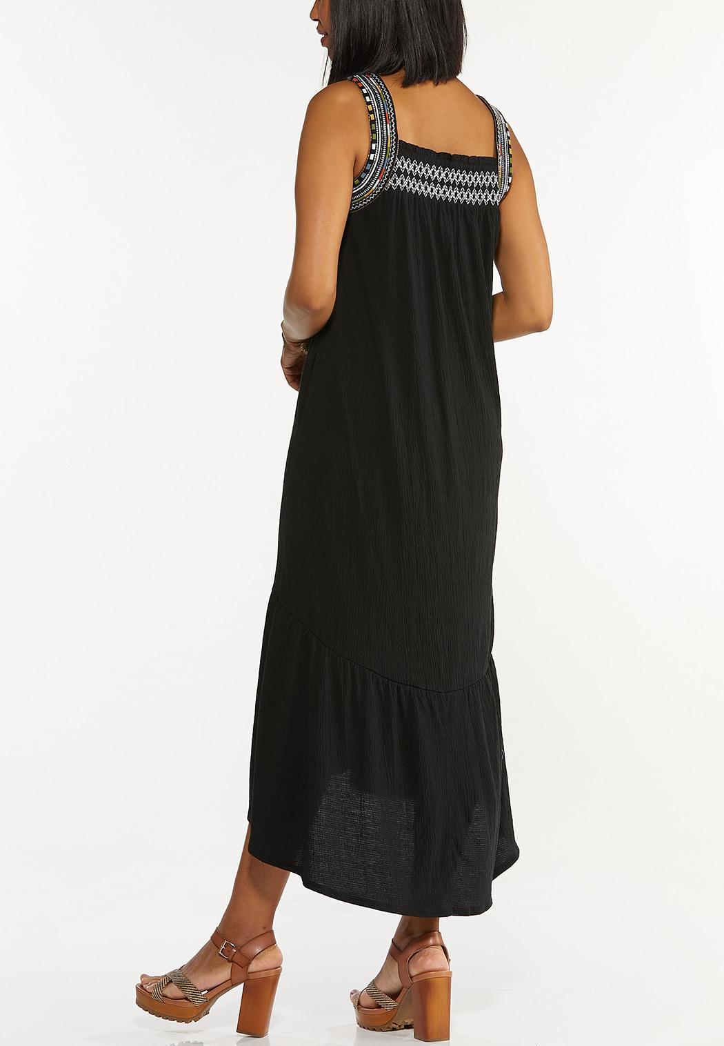 Plus Petite Gauzy Embroidered Dress (Item #44293159)