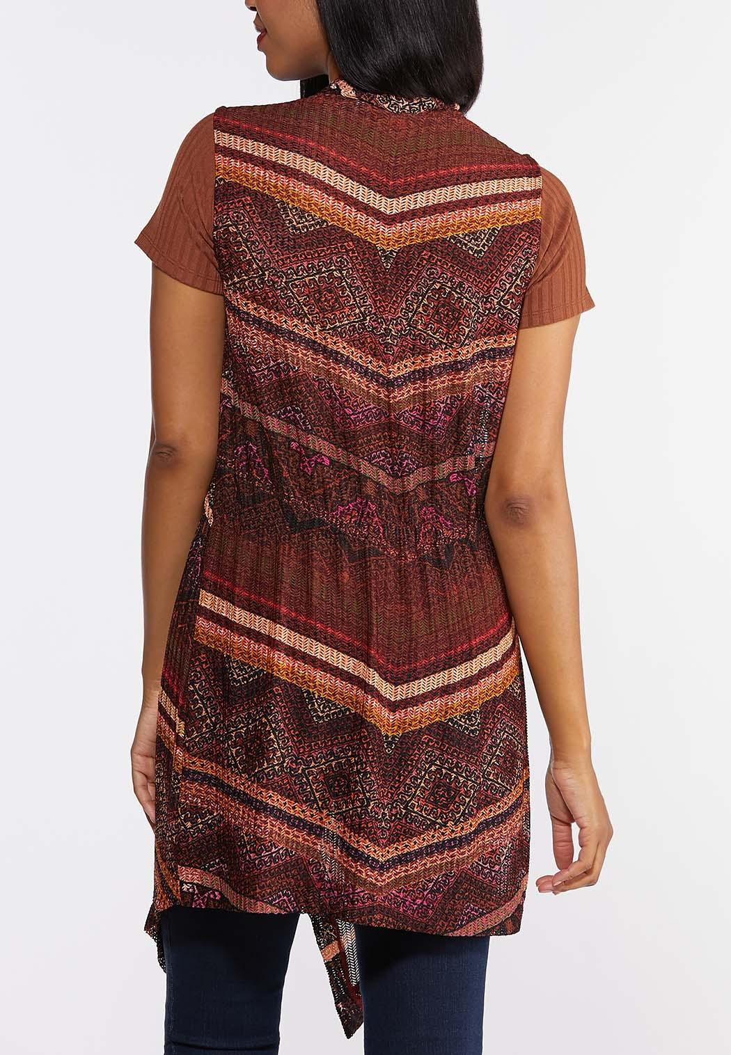 Plus Size Know Your Tribe Knit Vest (Item #44293190)