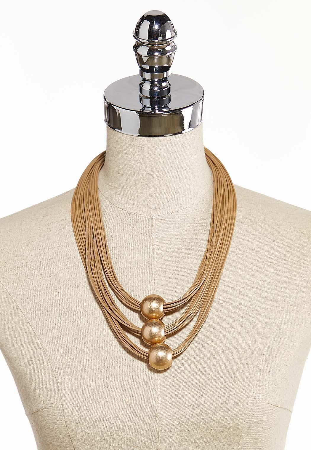 Orbit Layered Cord Necklace  (Item #44293282)