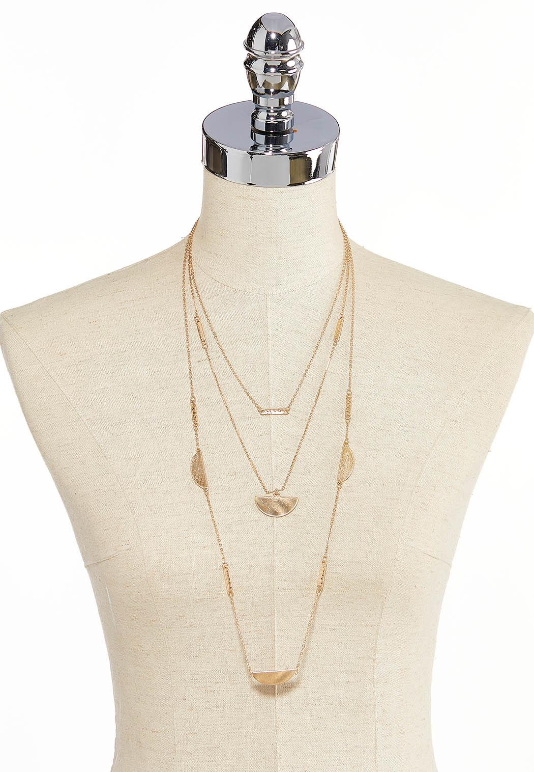 Layered Gold Necklace (Item #44293286)