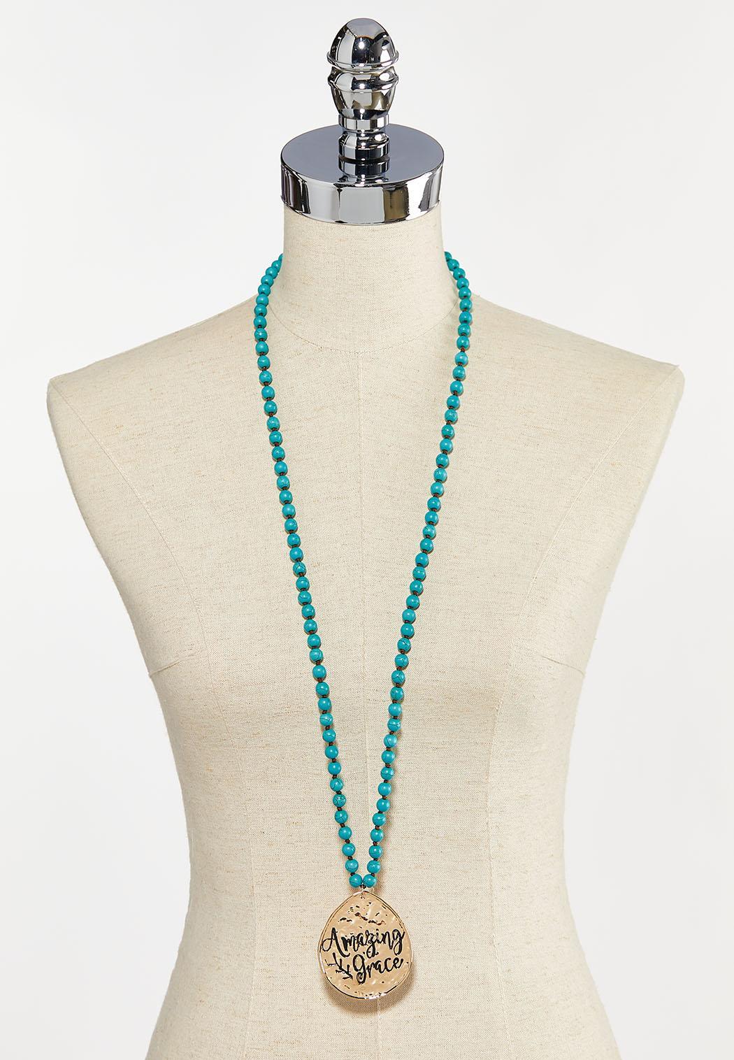 Amazing Grace Pendant Necklace (Item #44293450)