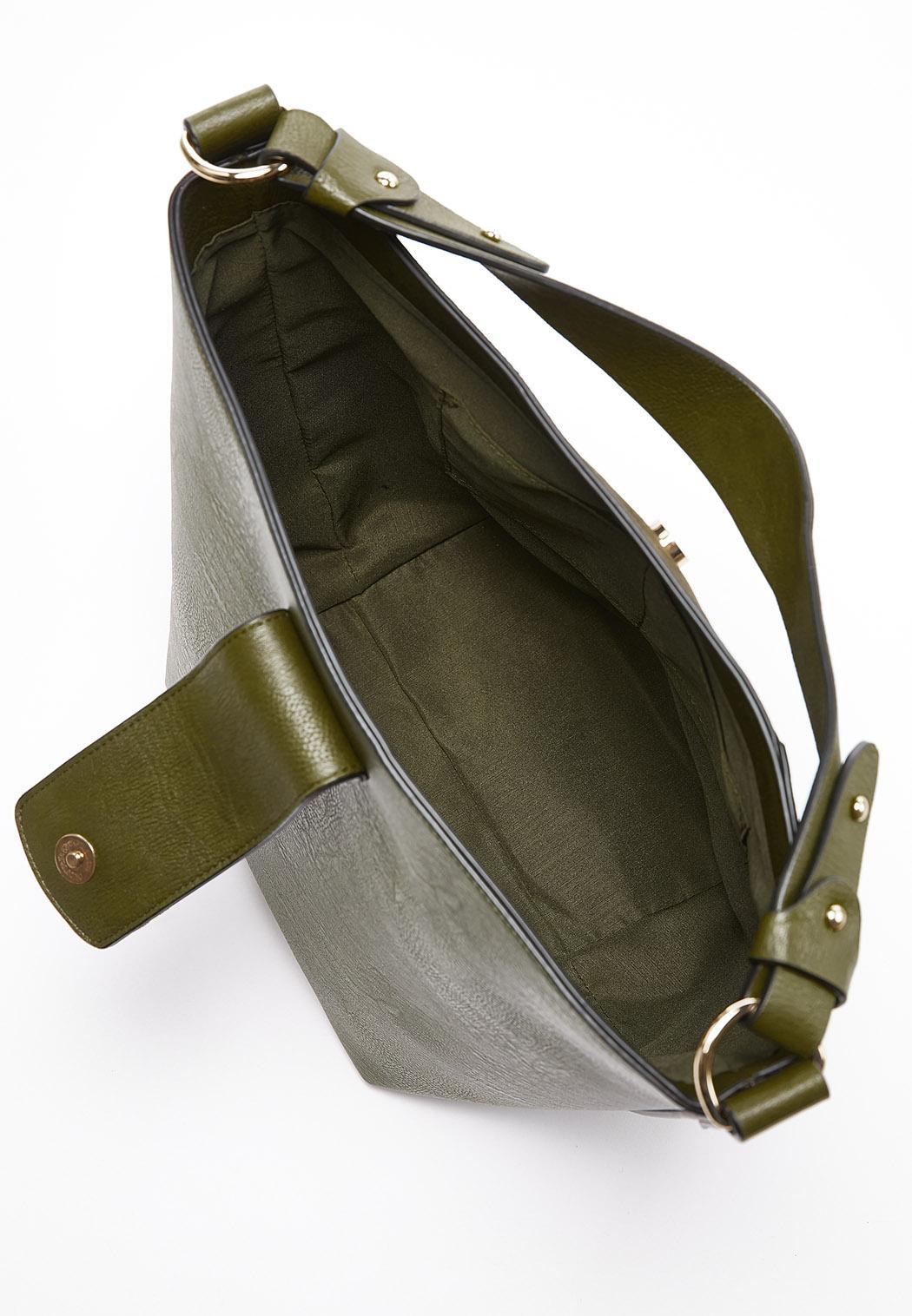 Olive Bucket Handbag (Item #44293824)