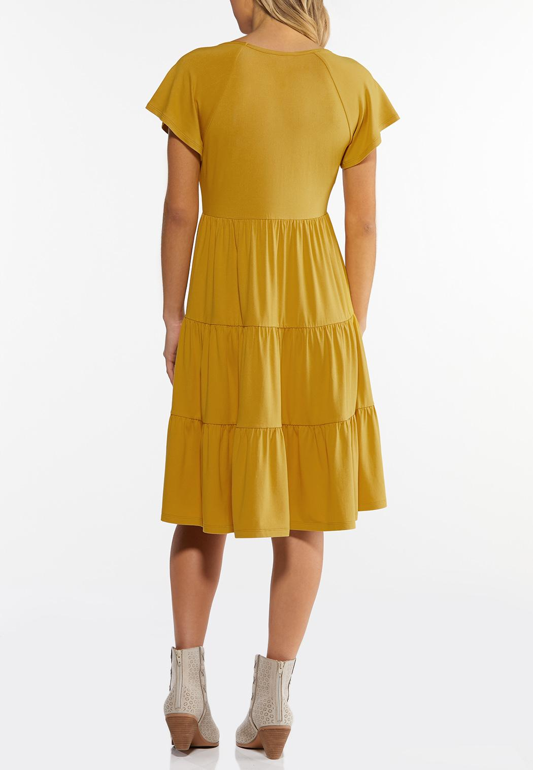 Plus Size Tiers And Sunshine Dress (Item #44295126)