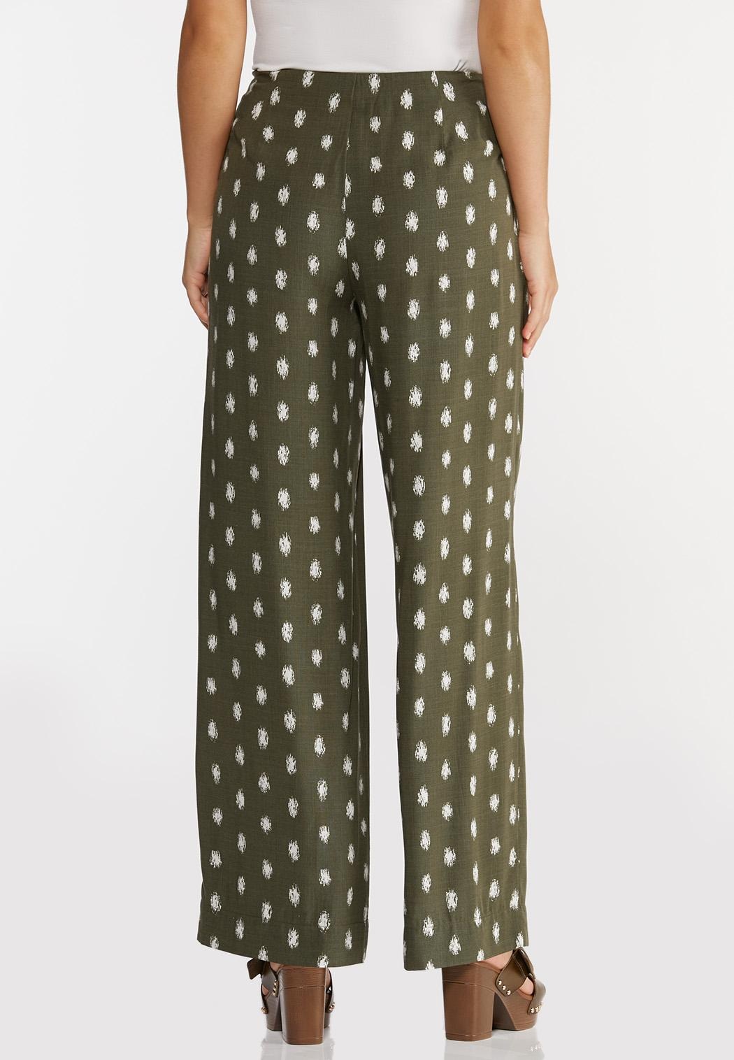 Dotted Olive Pants (Item #44295474)