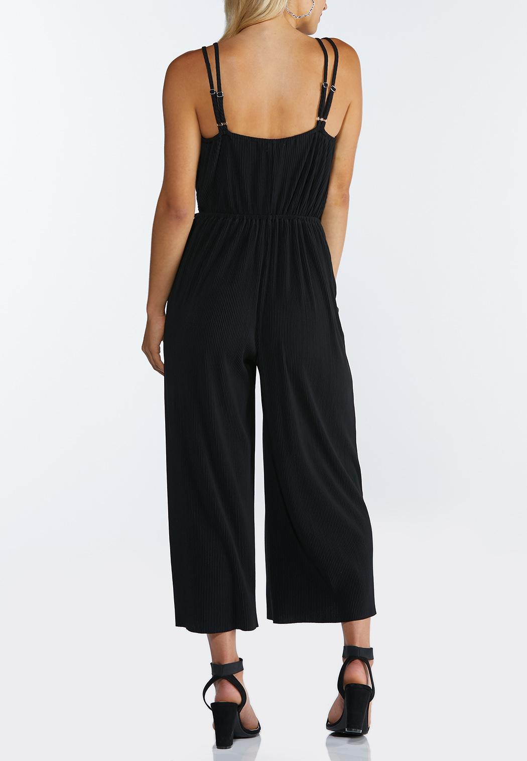 Strappy Cropped Jumpsuit (Item #44295502)