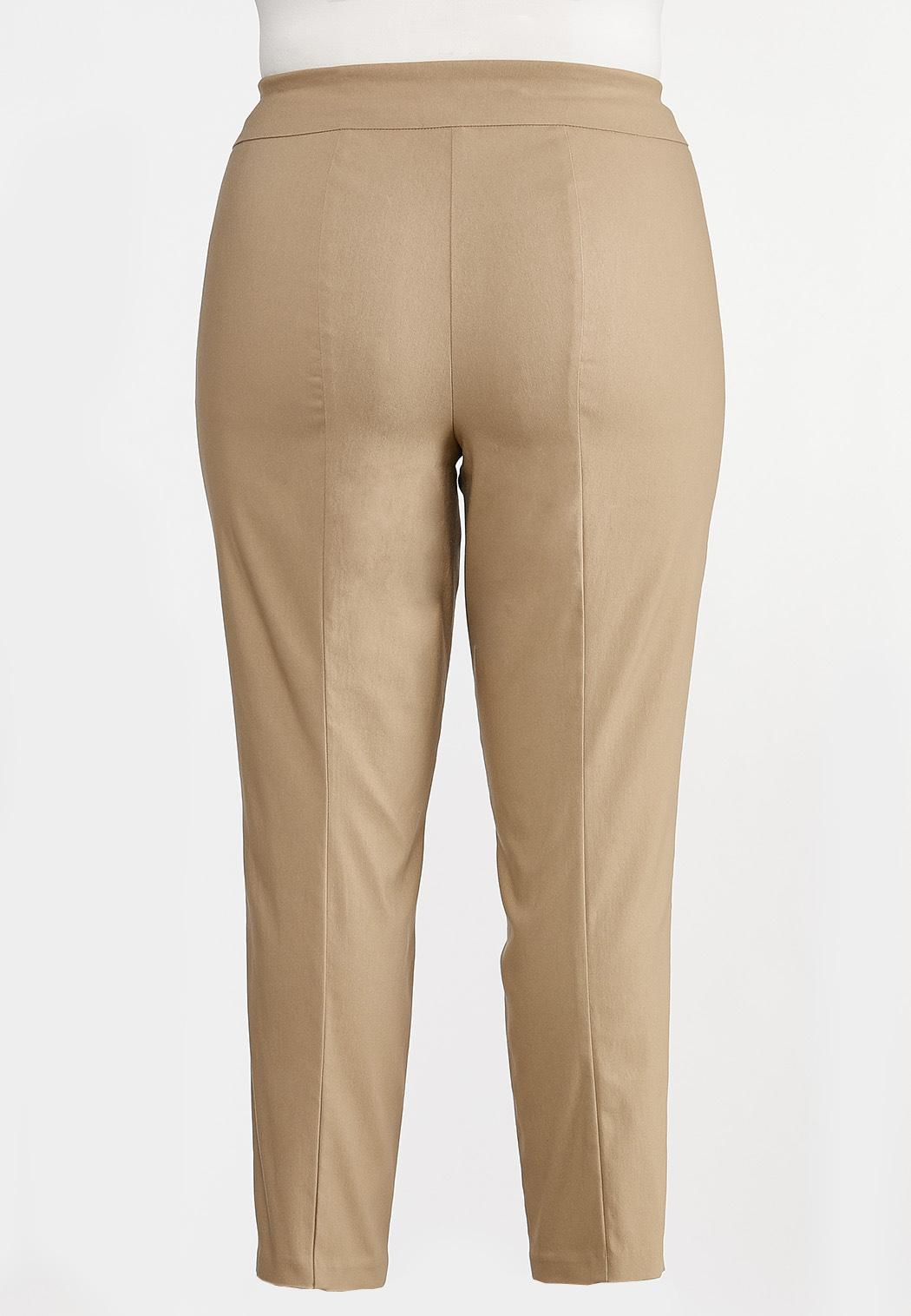 Plus Petite Soft Woven Slim Pants (Item #44296656)