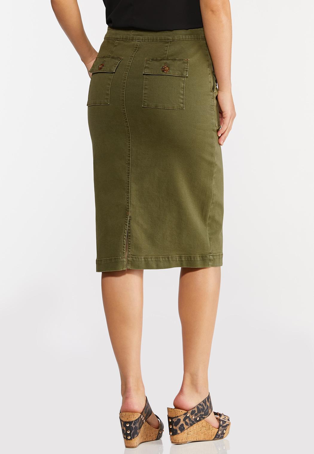 Green Pencil Skirt (Item #44296933)