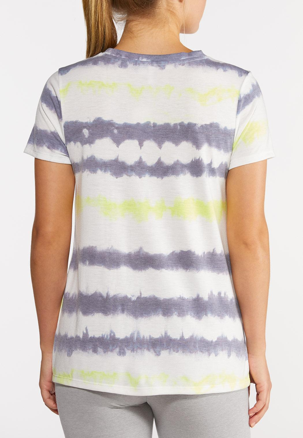 Knotted Tie Dye Top (Item #44299773)