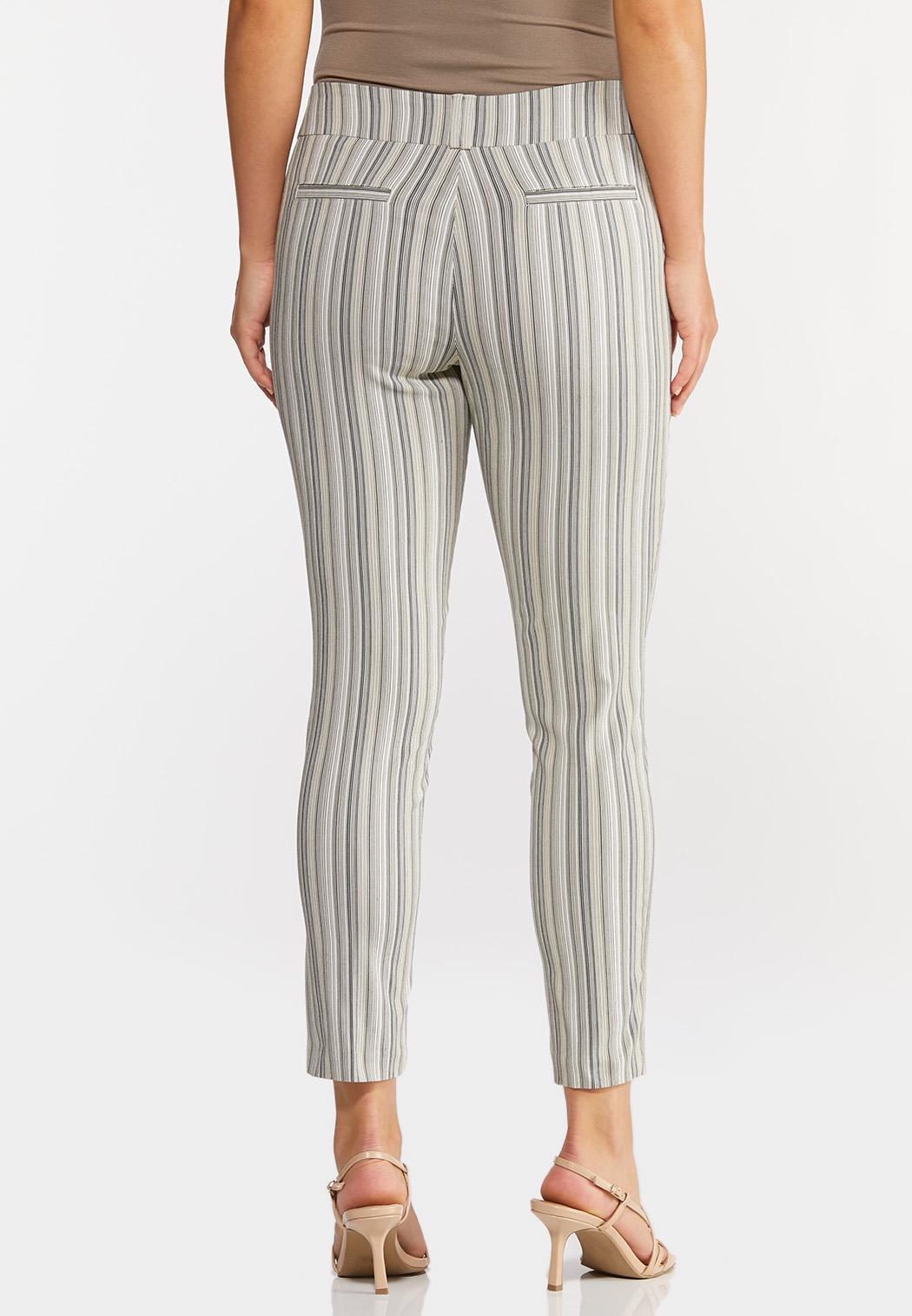 Button Pocket Stripe Pants (Item #44299970)