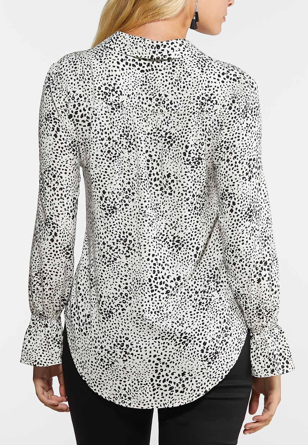 Spotted Button Down Shirt (Item #44300422)