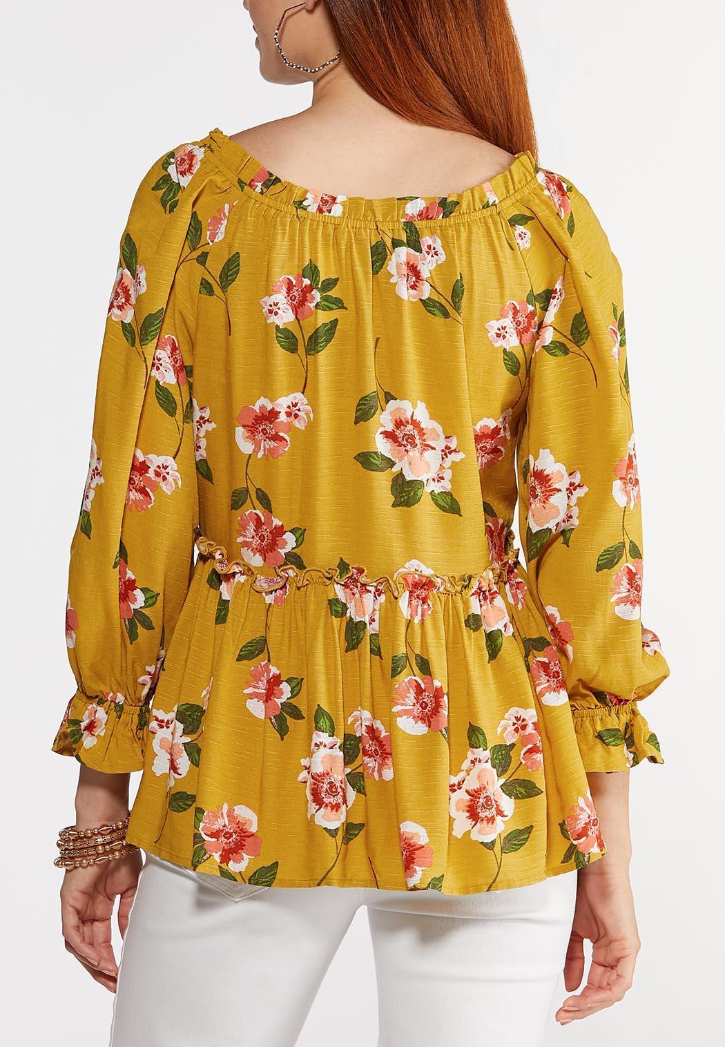 Honey Floral Poet Top (Item #44300472)