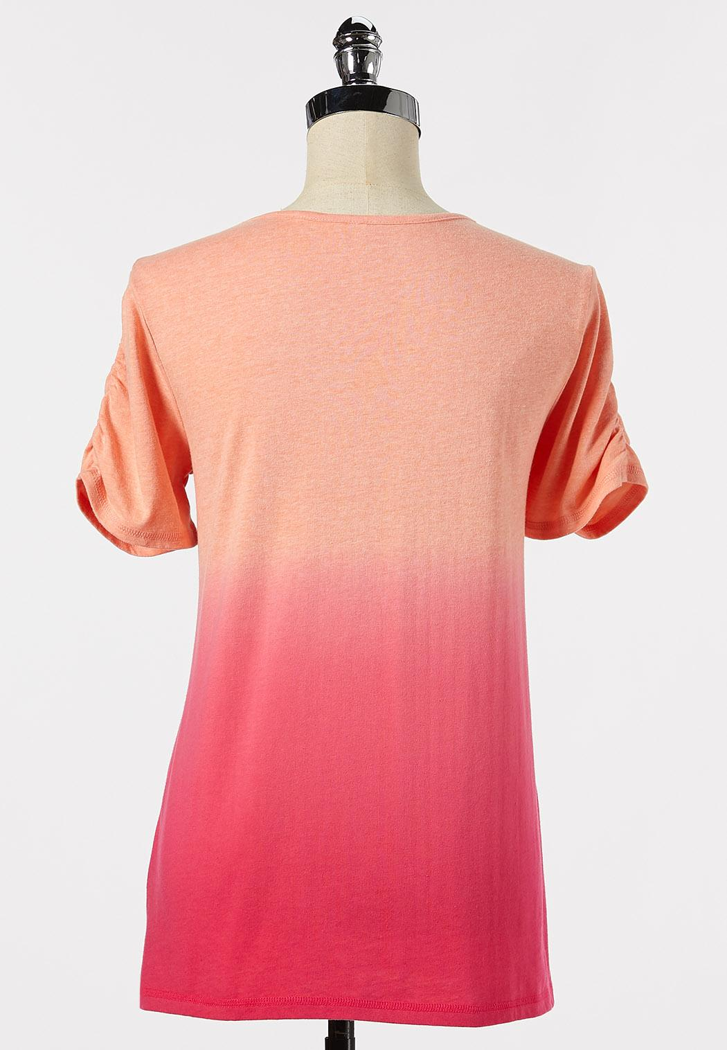 Plus Size Let`s Flamingle Tee (Item #44301756)