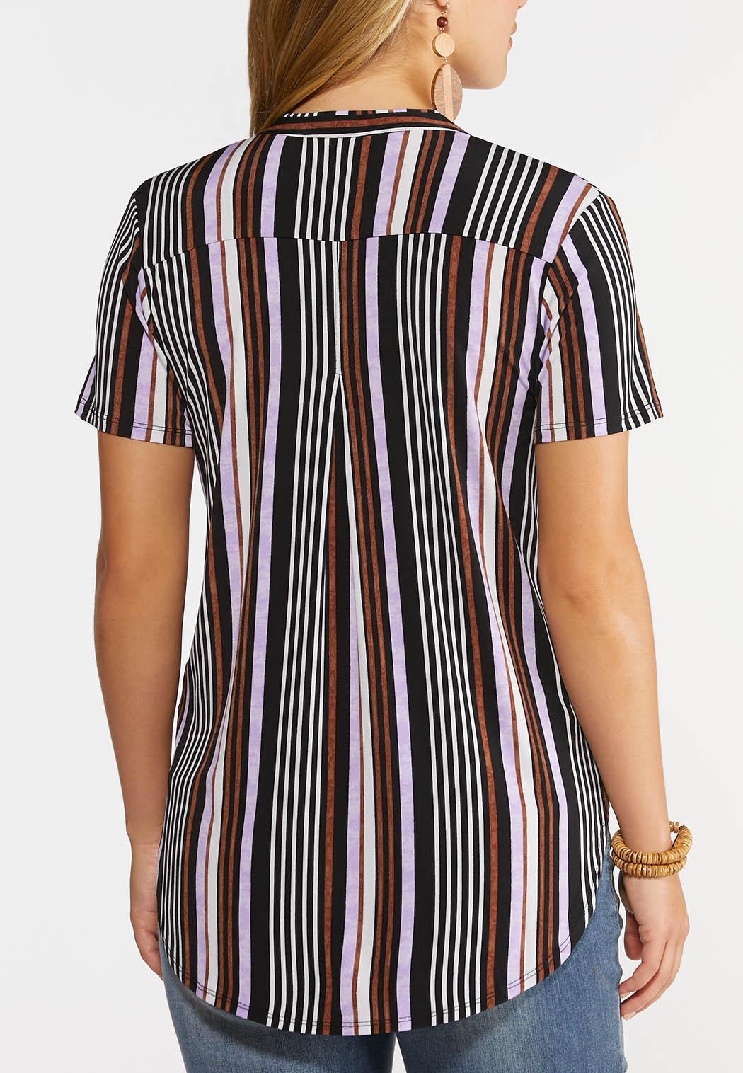 Lilac Stripe Top (Item #44306462)