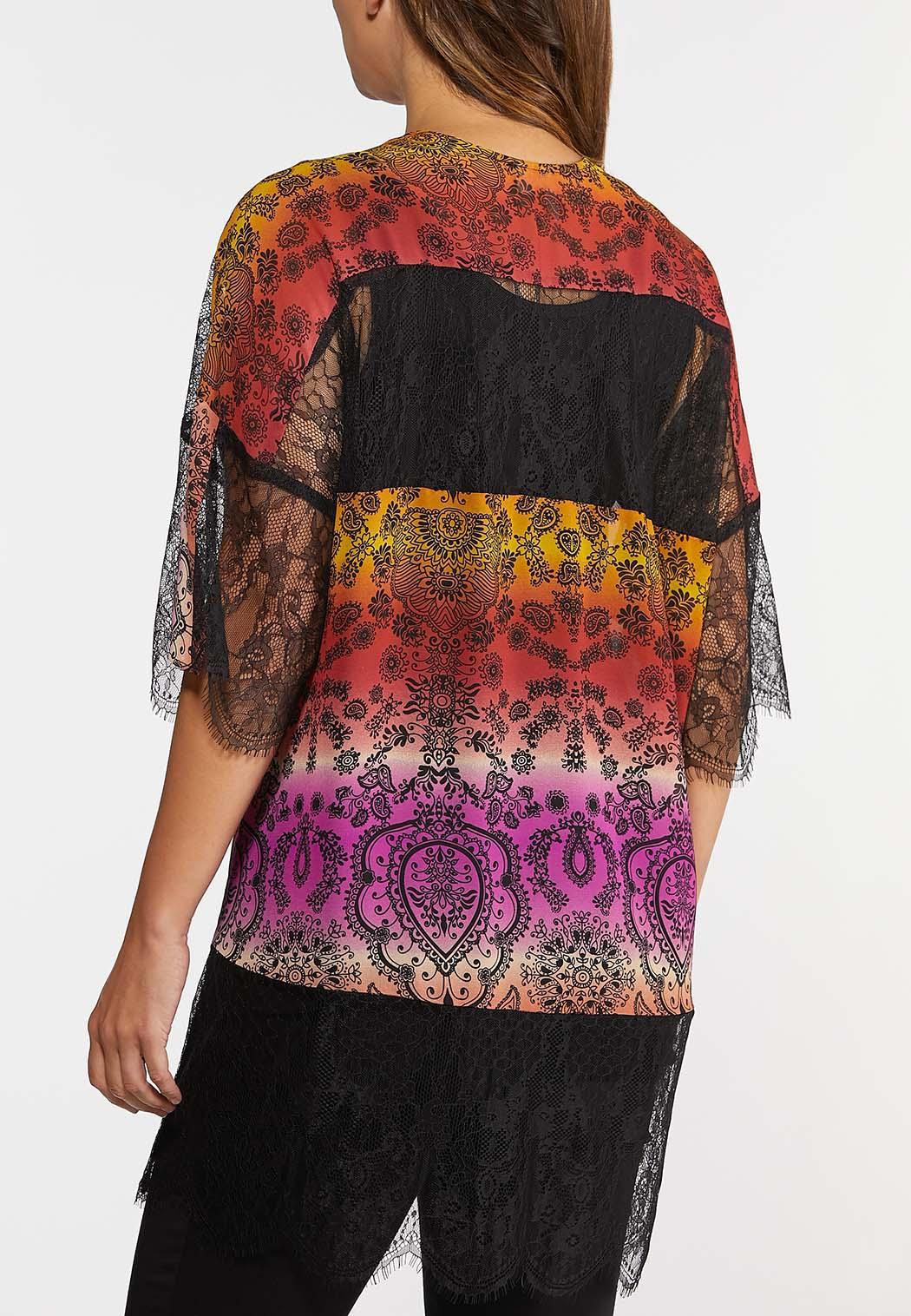 Lacy Paisley Kimono (Item #44309087)