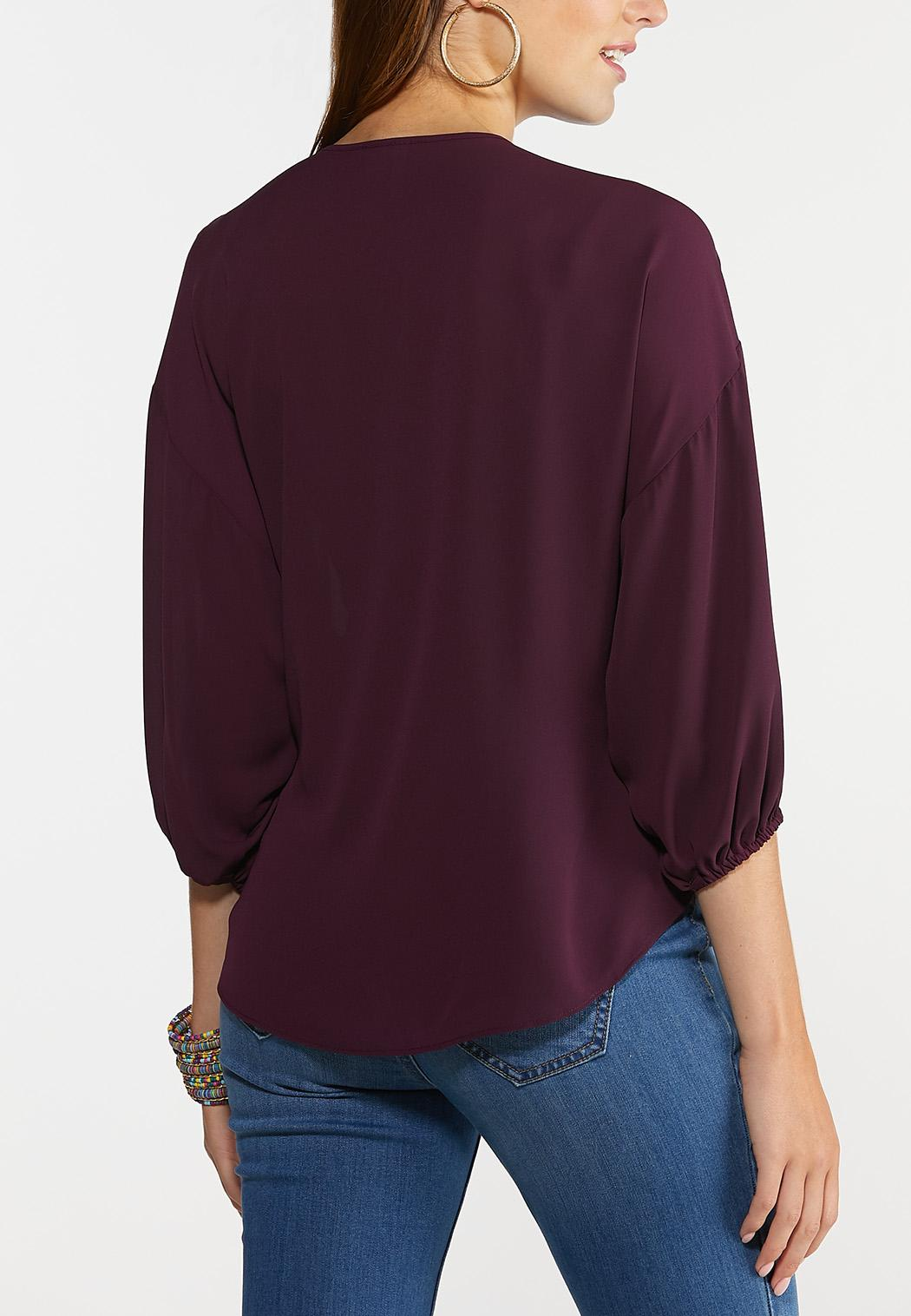 Purple Poet Top (Item #44309530)