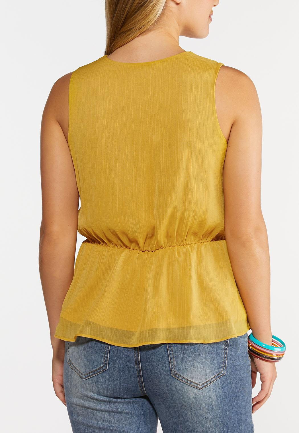 Asymmetrical Peplum Top (Item #44309563)