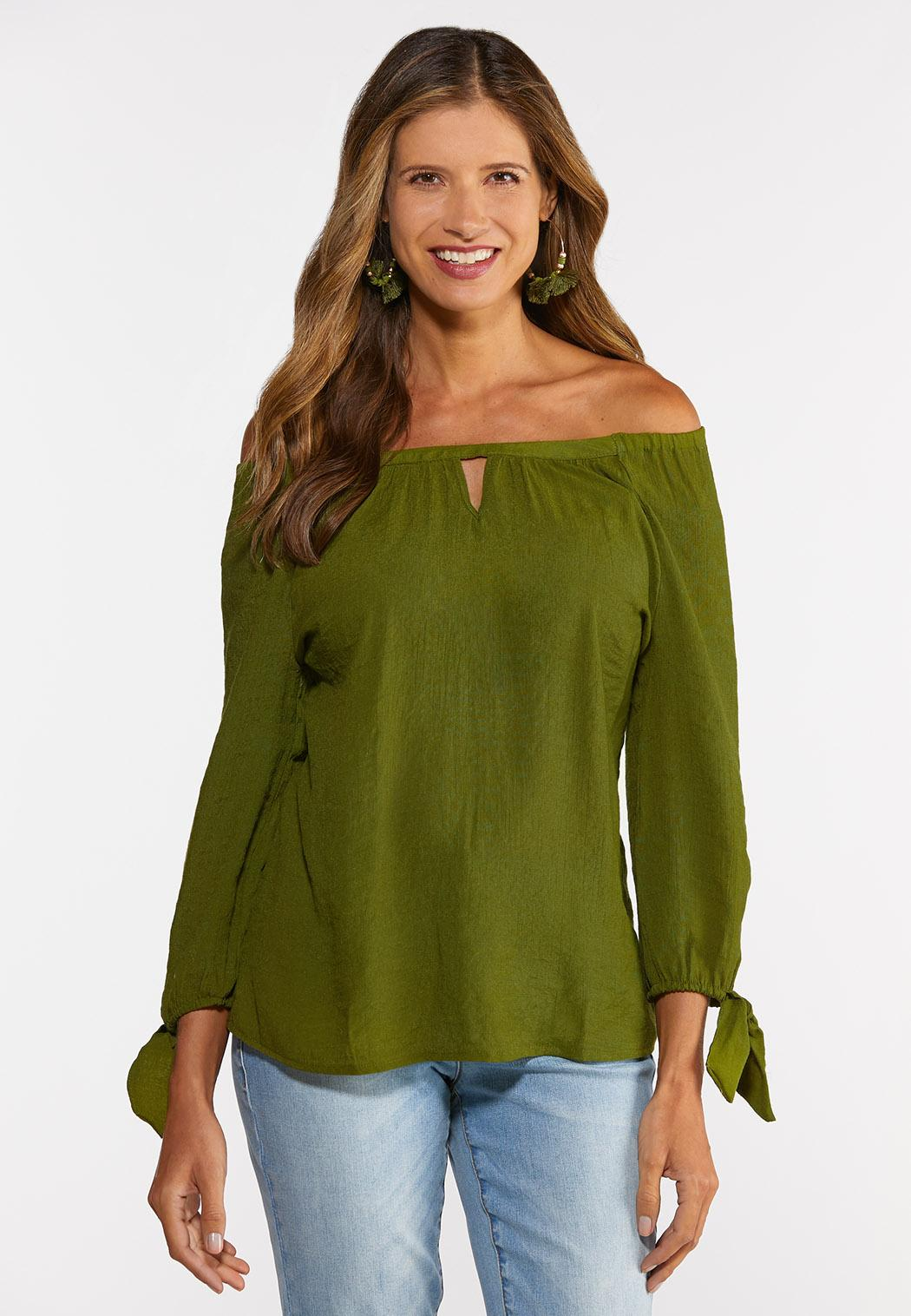 Tie Sleeve Poet Top (Item #44310620)