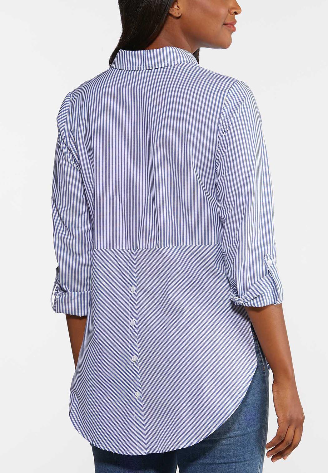 Stripe Button Down Shirt (Item #44310718)