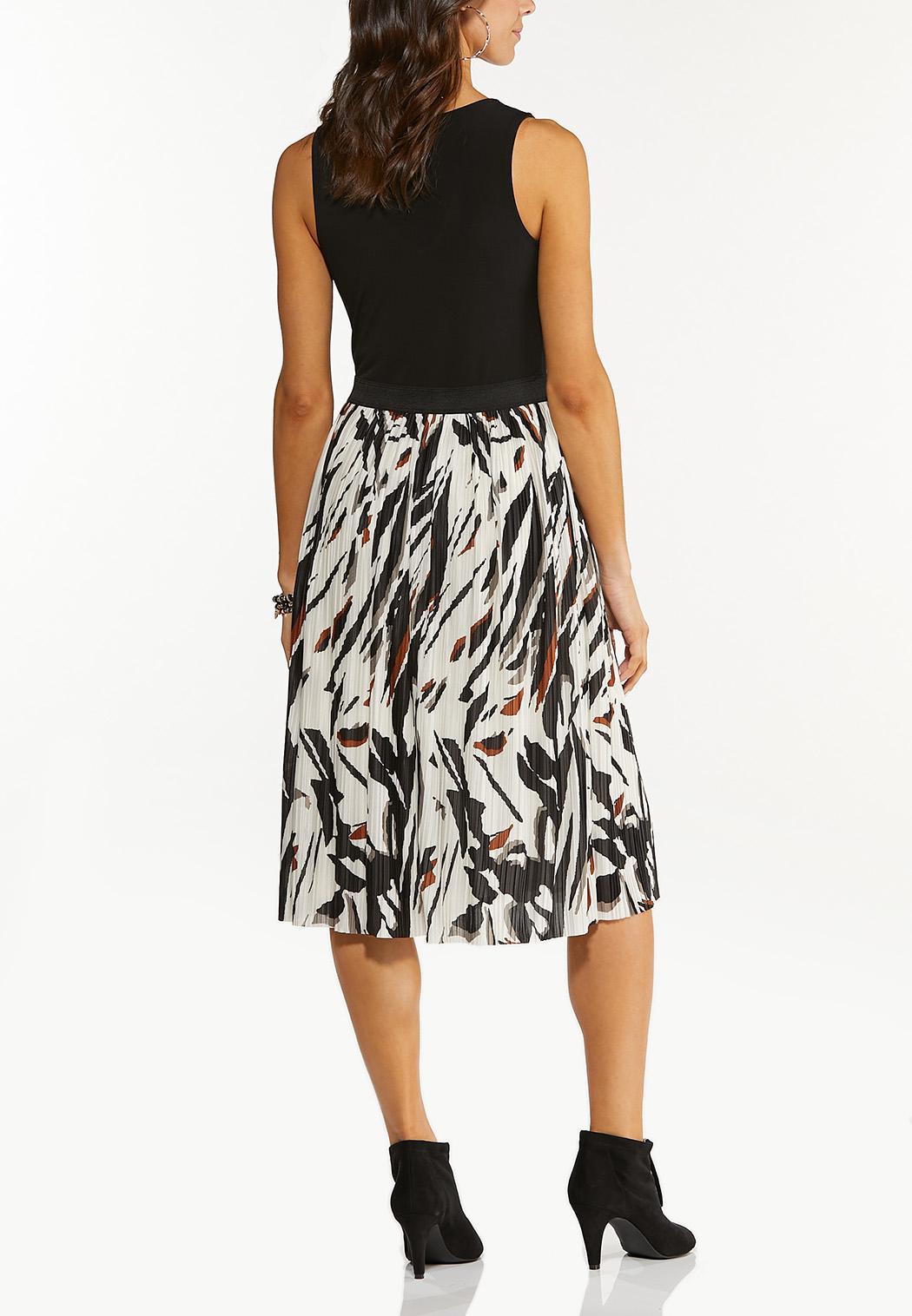 Colorblock Leopard Dress (Item #44312991)