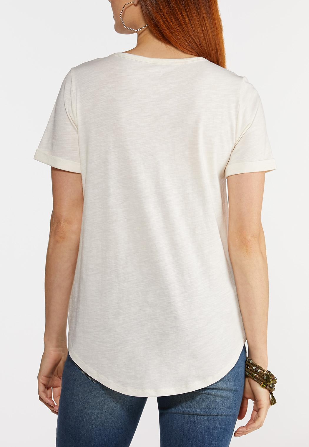 Plus Size Yes To Adventures Tee (Item #44314636)