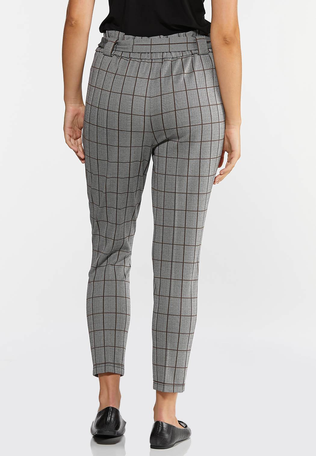 Plaid Paperbag Trousers (Item #44314810)