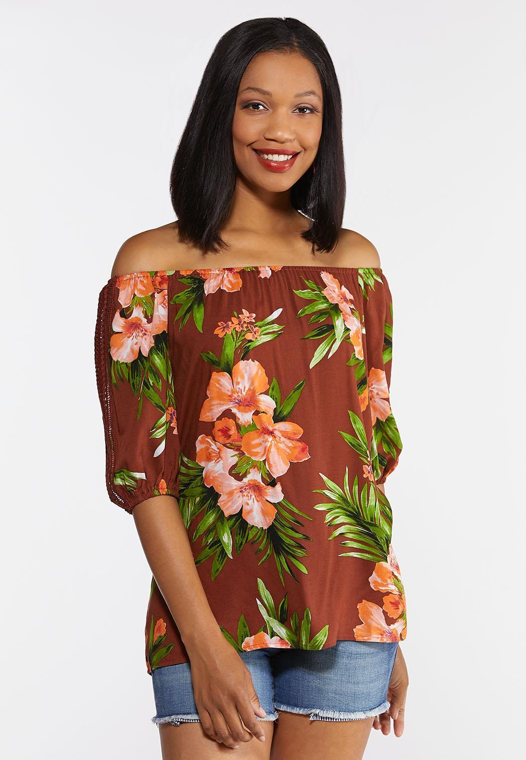 Tropical Crochet Top (Item #44314943)