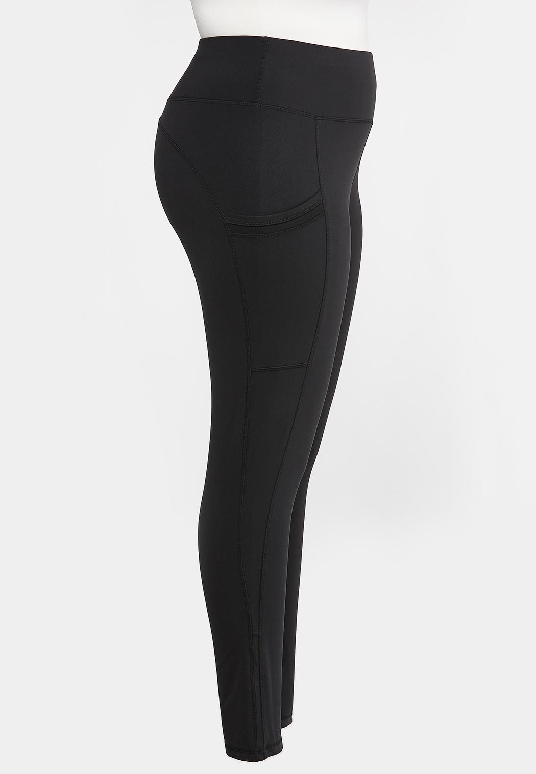 Plus Size Active Two Pocket Leggings (Item #44317140)