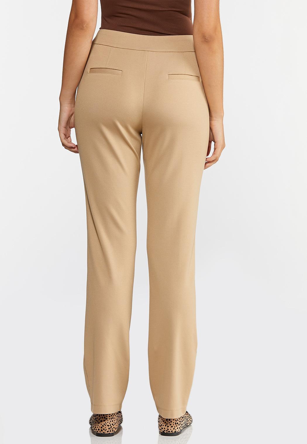 Petite Straight Leg Ponte Pants (Item #44317431)
