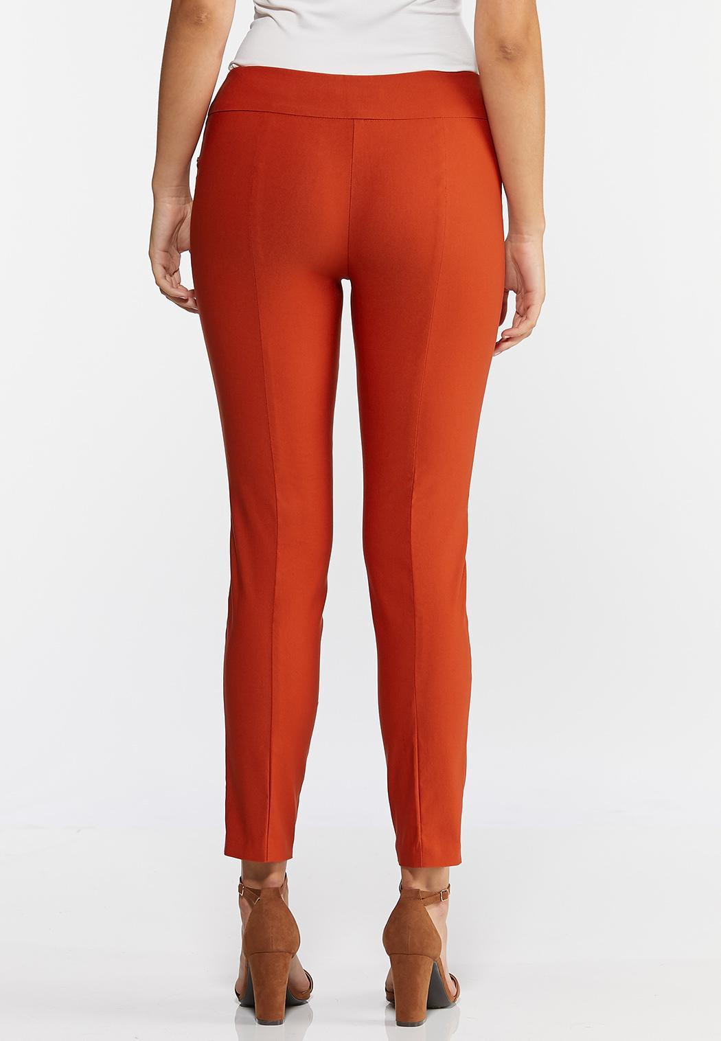 Petite Solid Grommet Waist Pants (Item #44317596)