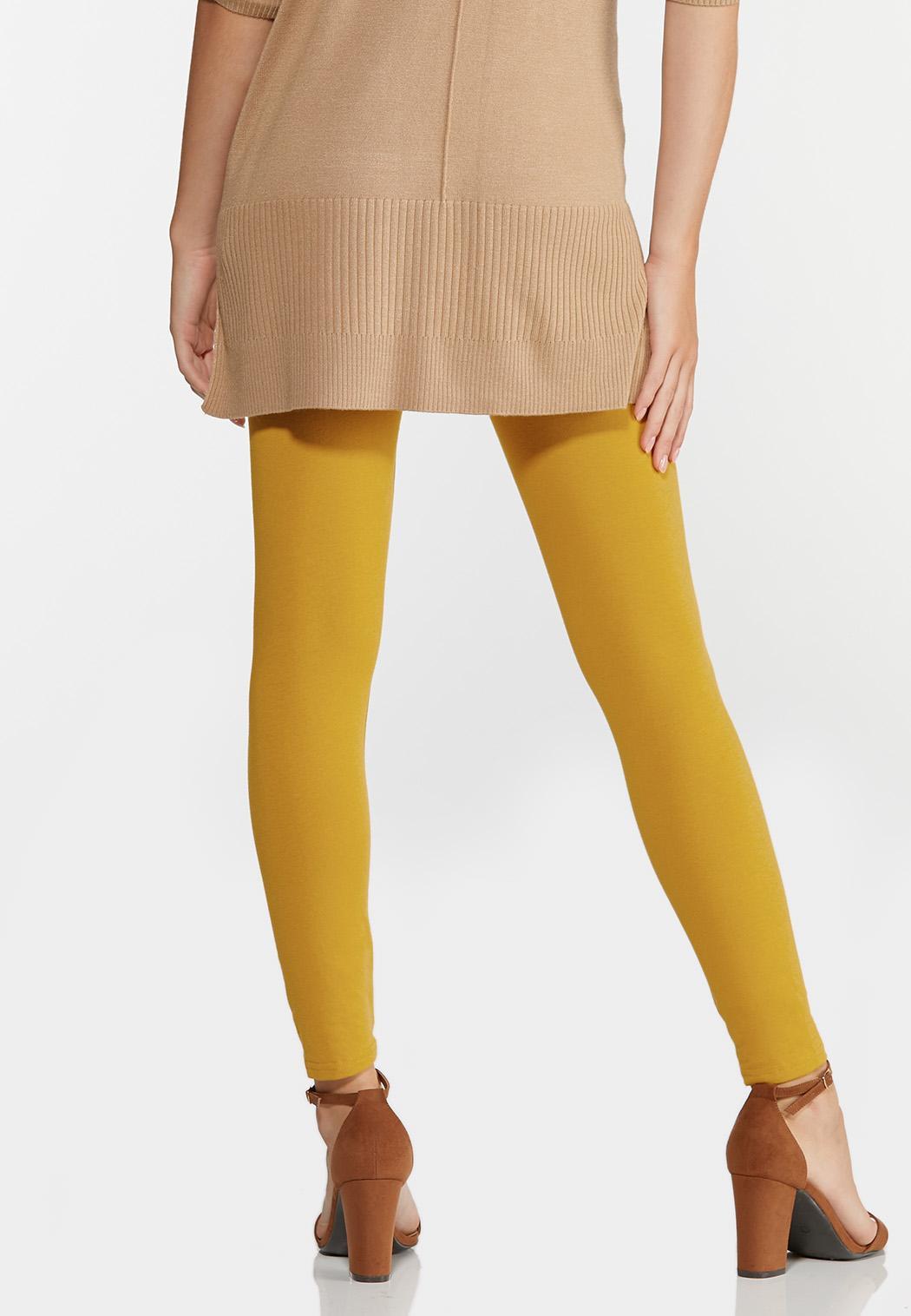 Solid Knit Leggings (Item #44319378)