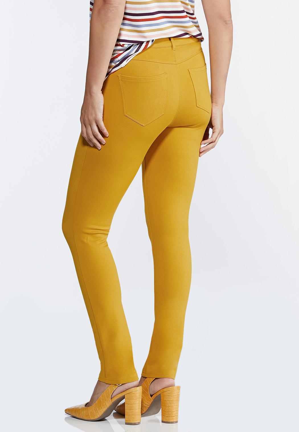 Skinny 5-Pocket Ponte Pants (Item #44319560)