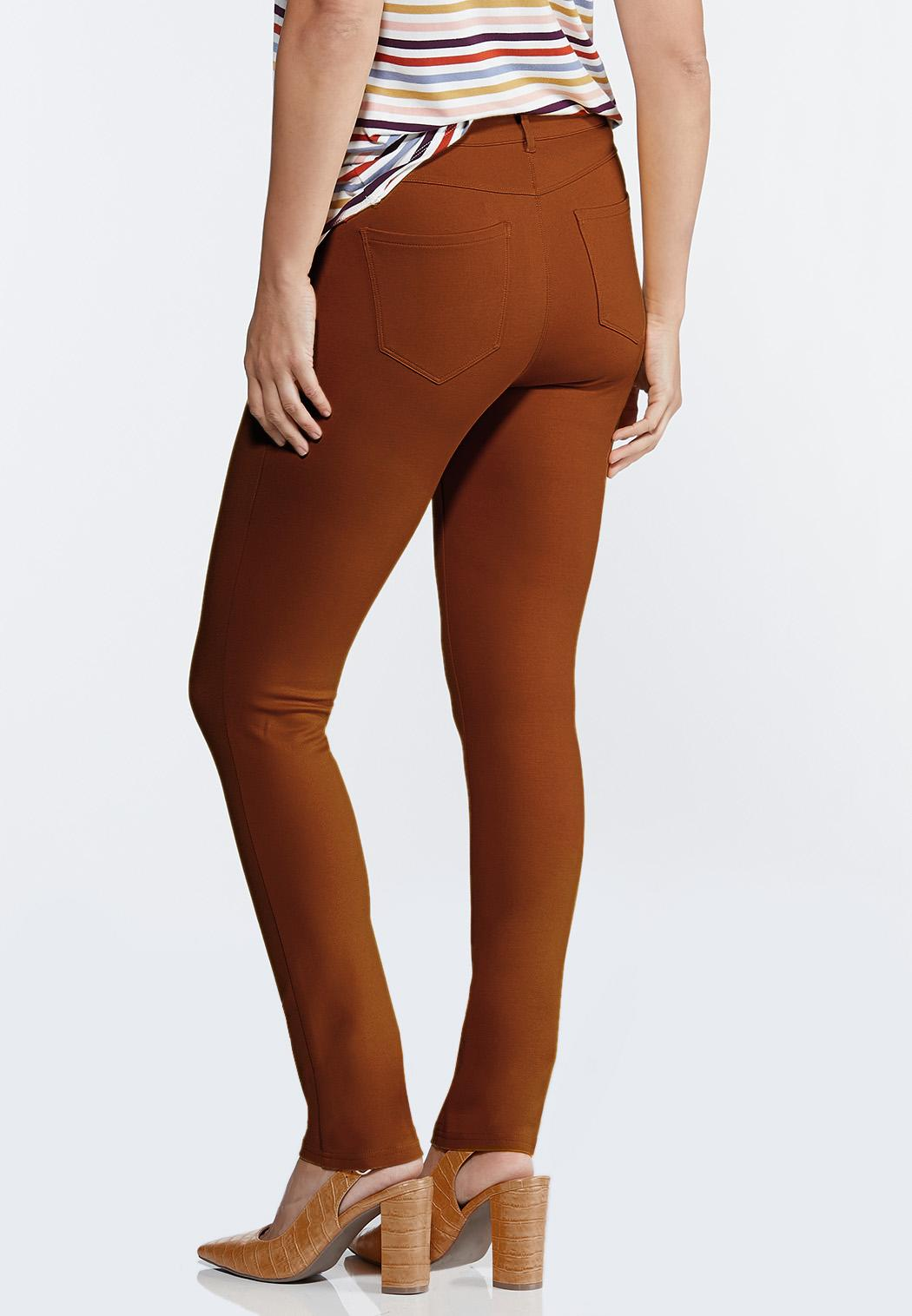 Petite Colored Ponte Pants (Item #44319655)