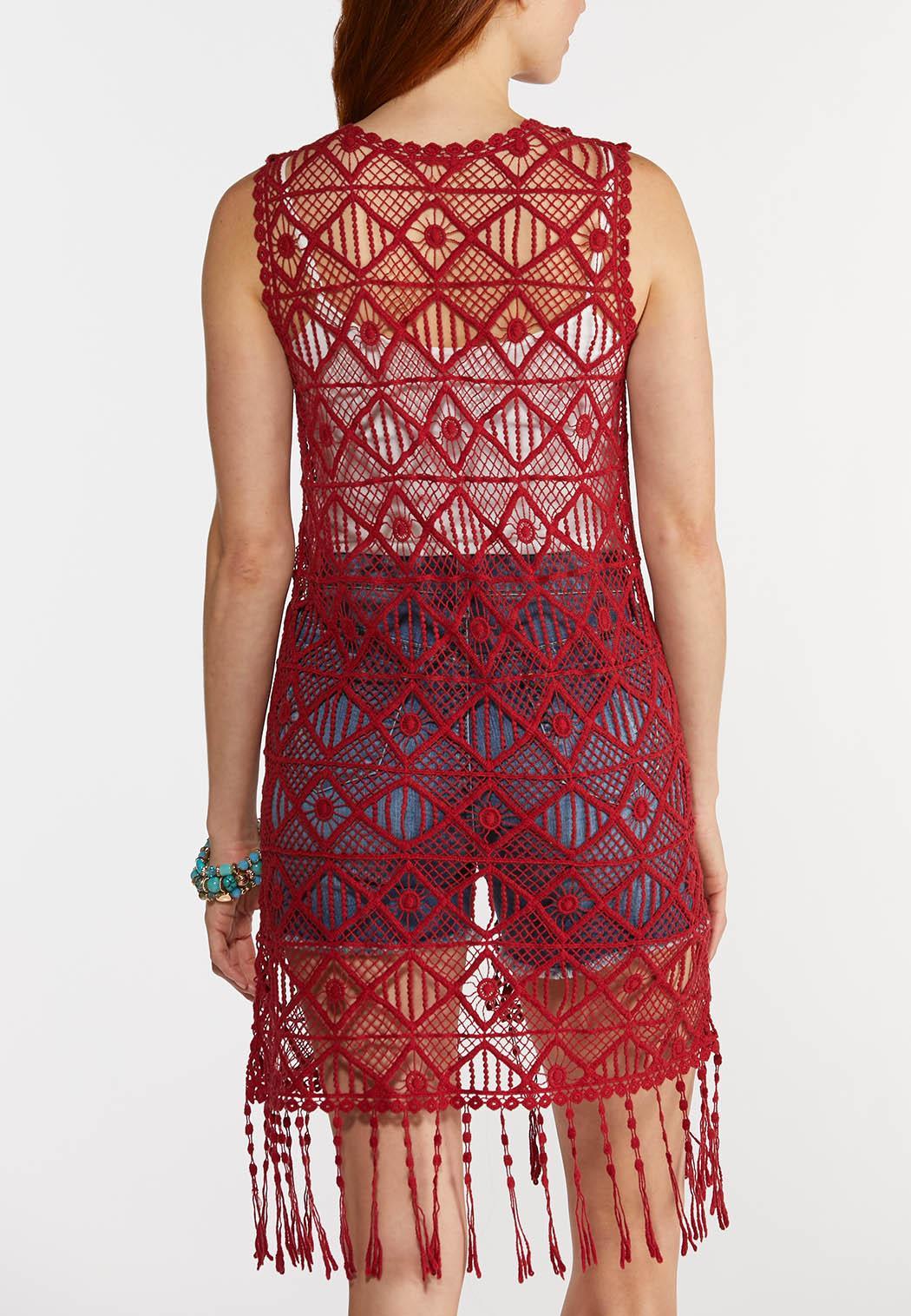 Crochet Duster Vest (Item #44325106)
