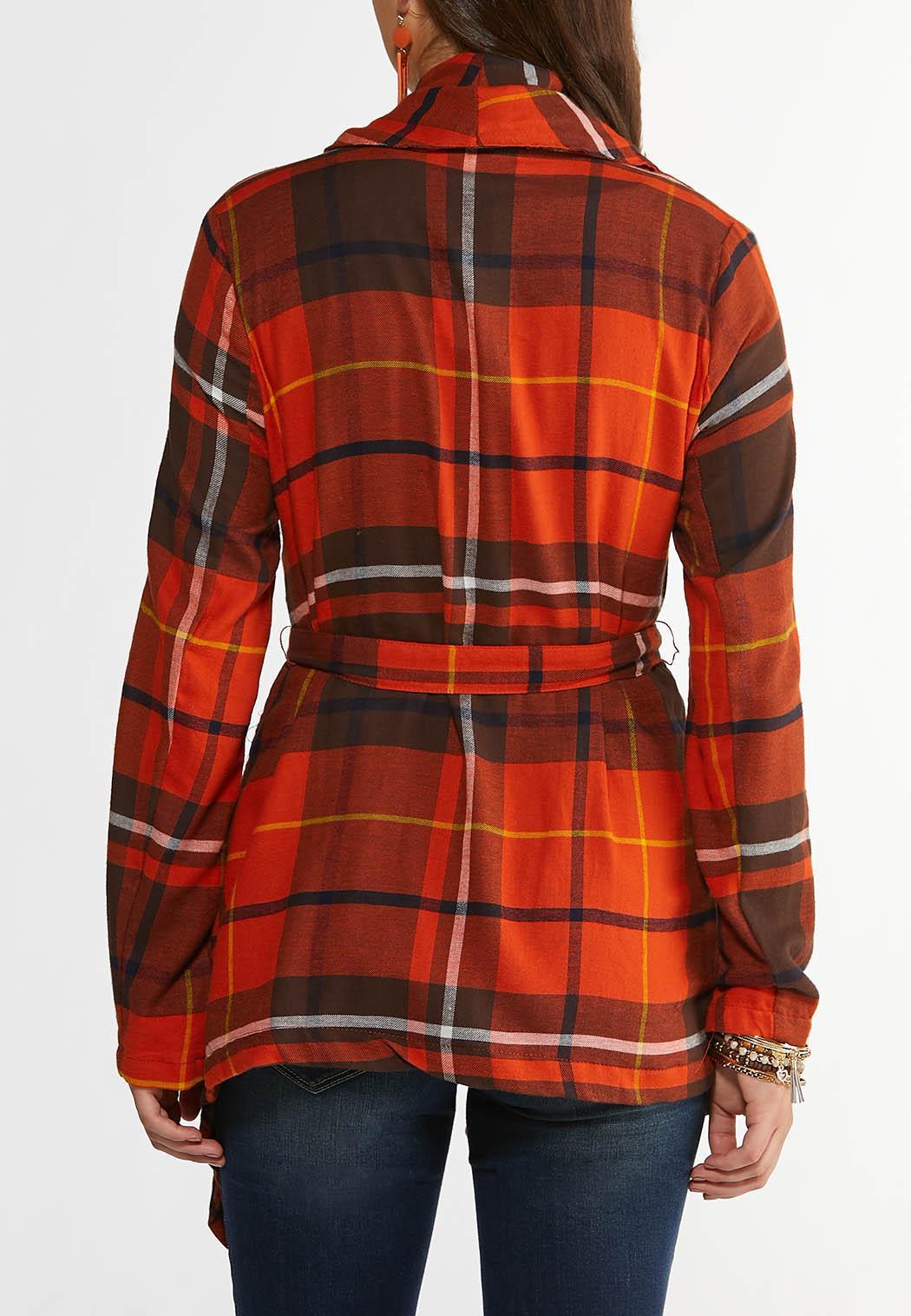 Fireside Plaid Belted Jacket (Item #44325982)