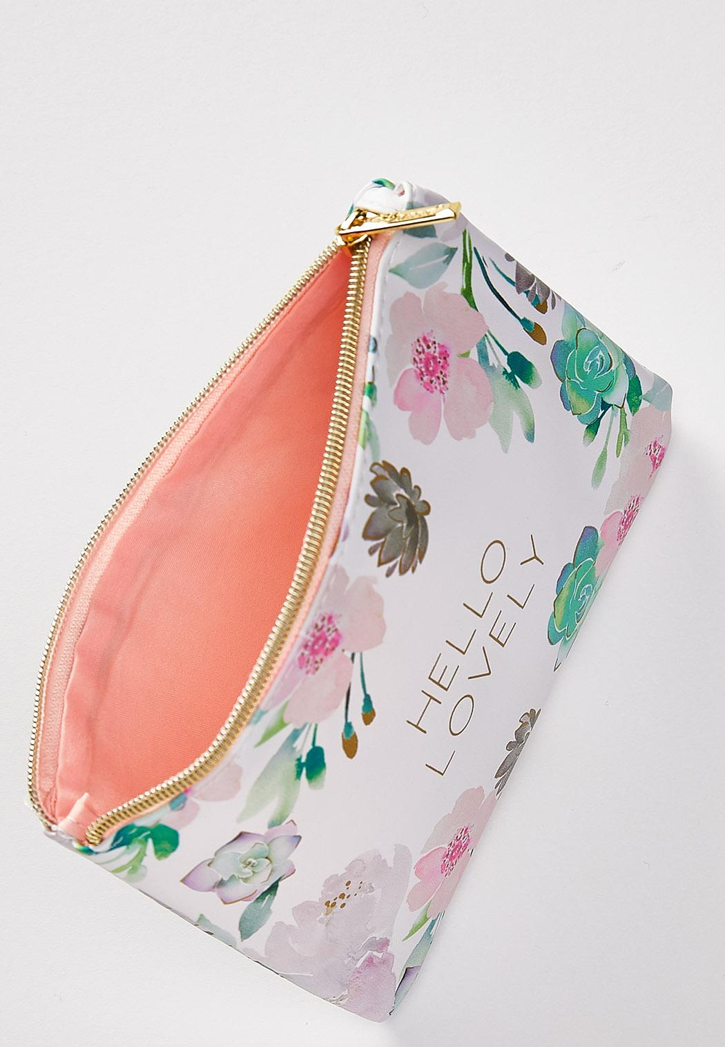 Hello Lovely Floral Pouch (Item #44329015)
