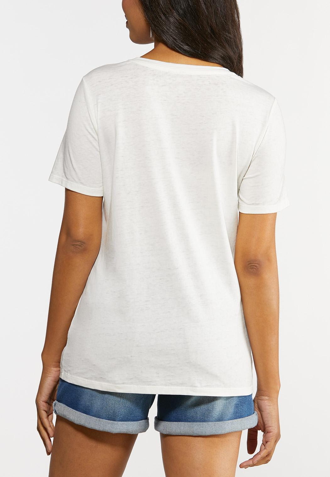Plus Size Just Add Water Tee (Item #44329264)