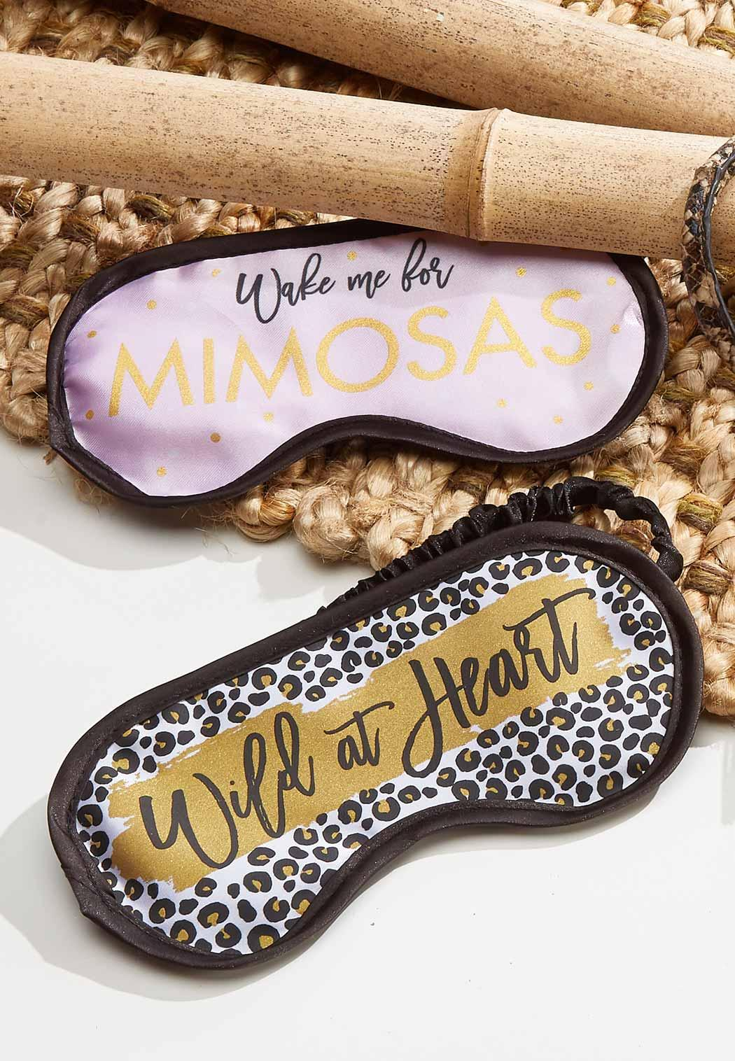 Mimosas Sleep Mask (Item #44330091)