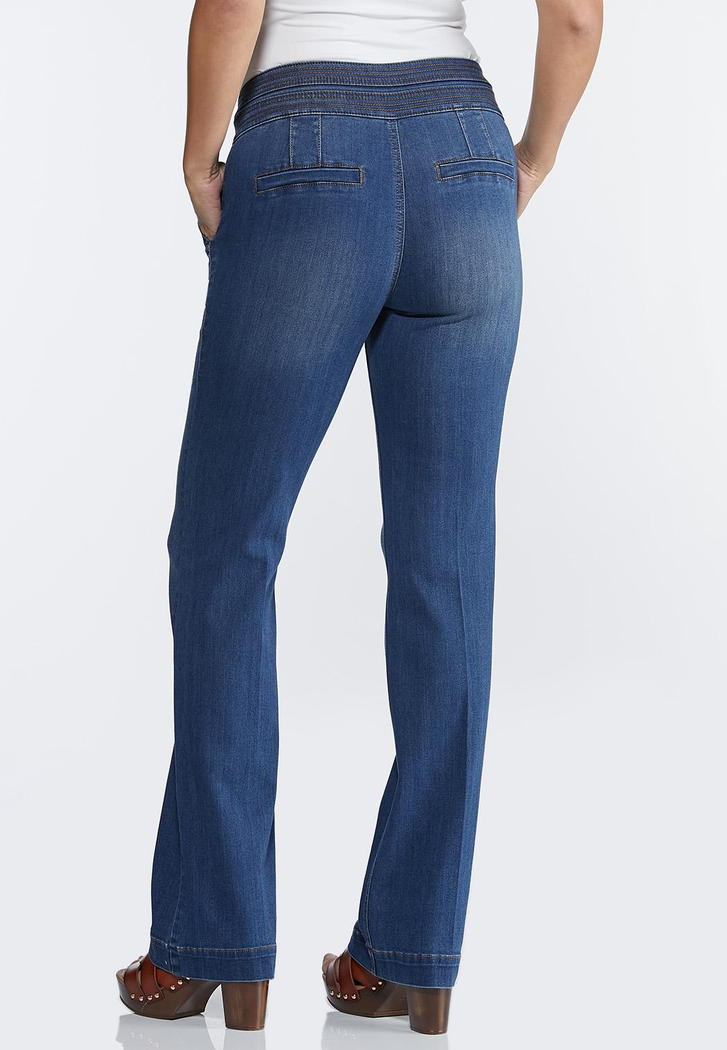 High-Rise Wide Leg Jeans (Item #44330336)