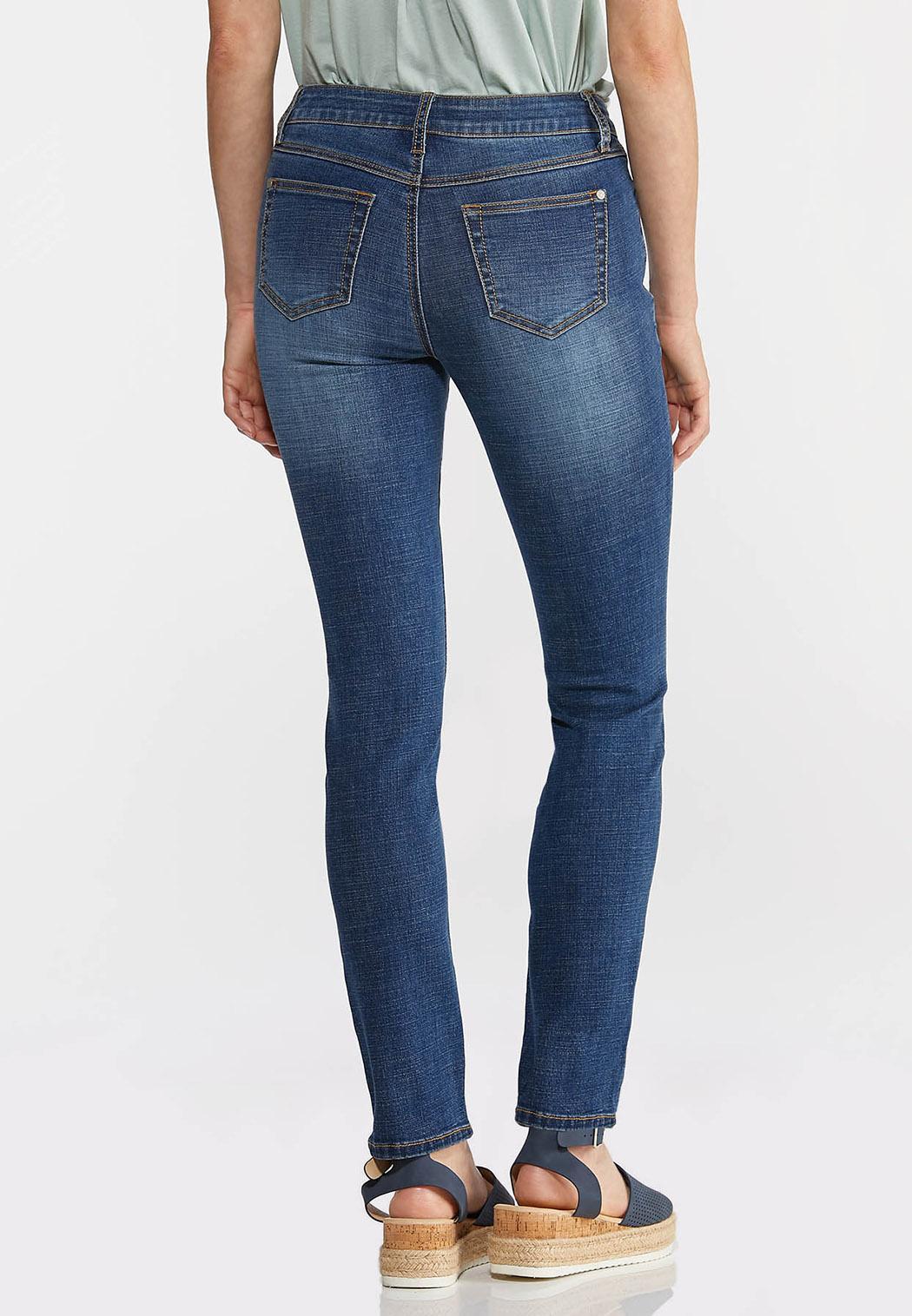 Mid-Rise Skinny Jeans (Item #44332105)