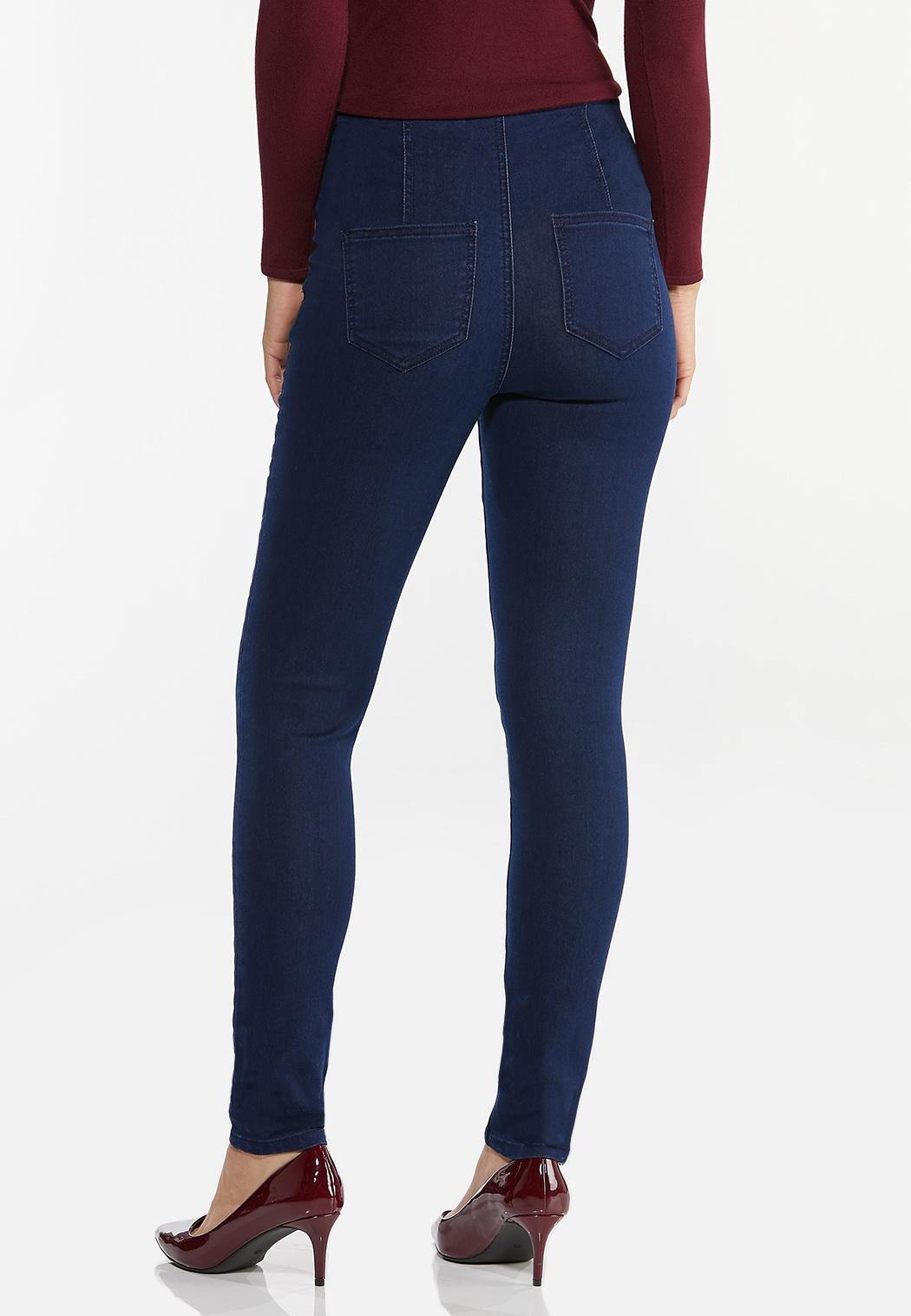 High-Rise Jeggings (Item #44332825)